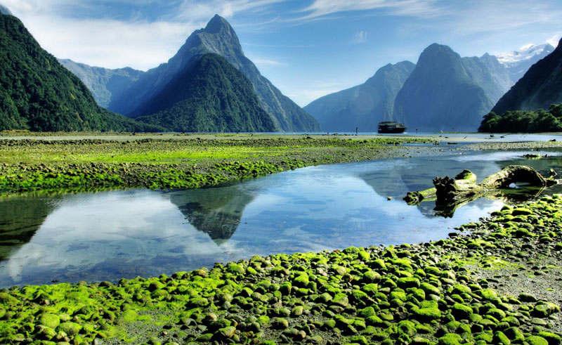new-zealand دیدنیهای نیوزلند