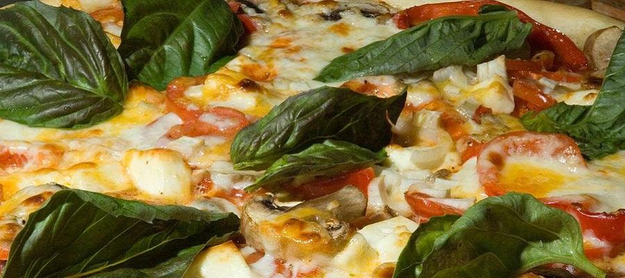pizza vegetableنحوه صحیح غذا خوردن