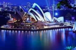 دیدنیهای شهر سیدنی در شب