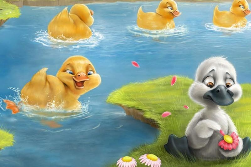 زیبایی ظاهریUgly duckling