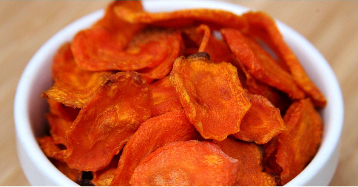 طرز تهیه چیپس هویج با 79 کالریcarrot-chips-recipe