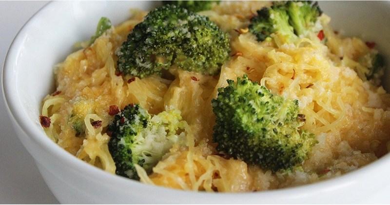 طرز تهیه ماکارونی کم کربوهیدراتspaghetti-squash