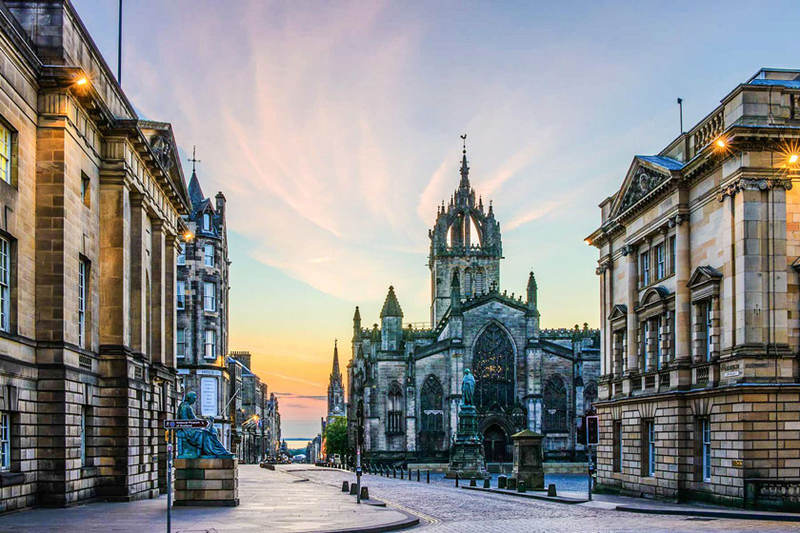 هزینه های سفر به ادینبرو Edinburgh