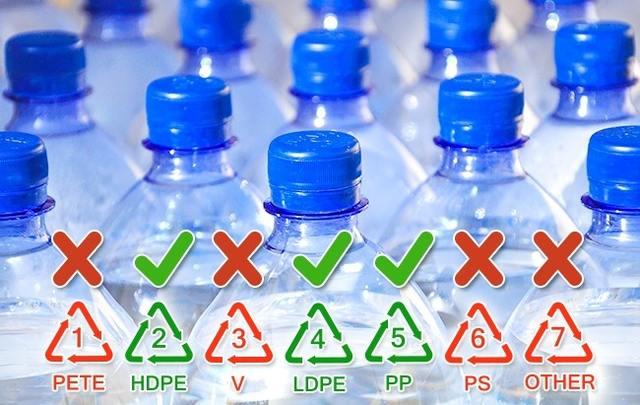 بطری پلاستیکی
