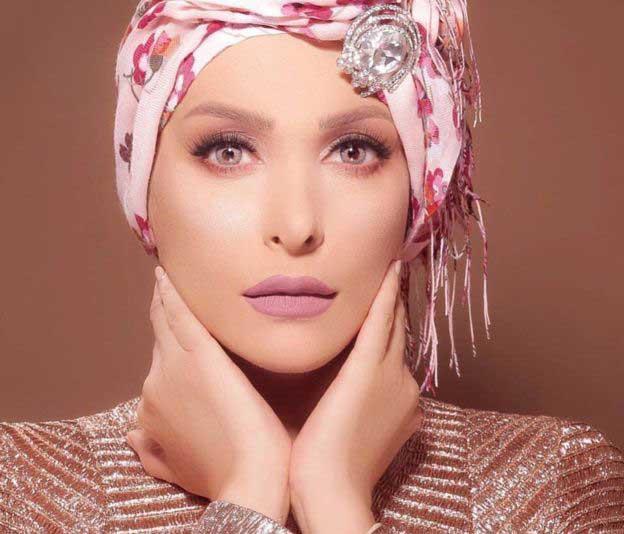خواننده معروف عرب امل حجازی محجبه شد + تصاویر