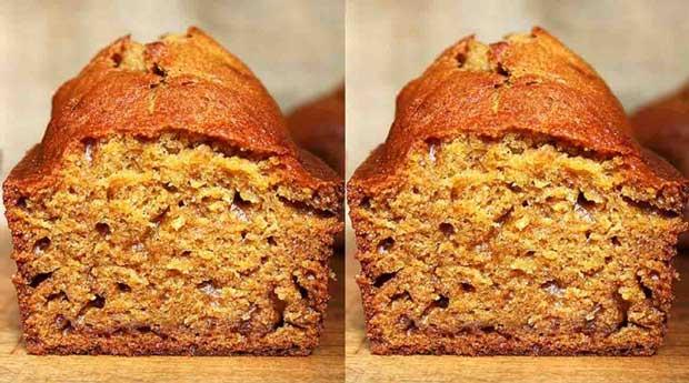 آموزش پخت کیک خوشمزه کدو حلوایی