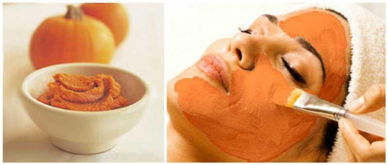 ماسک کدو حلوایی برای انواع پوست