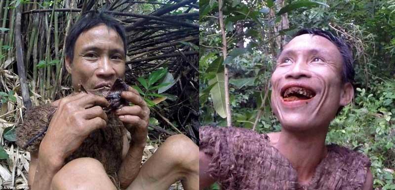 مردی که 40 سال با خوردن موش زنده مانده است