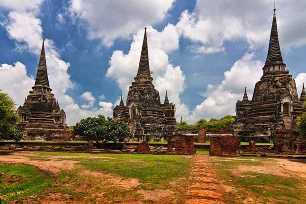 دیدنیهای تور بانکوک,پرا ناکان سی آیوتایا