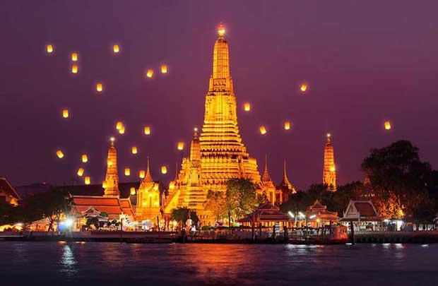 دیدنیهای تور بانکوک,معبد وات آرون