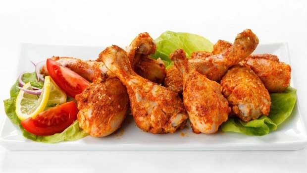 غذاهای با پروتئین بالا و چربی پایین,خوراک مرغ و سبزیجات