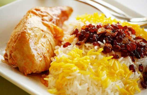 غذاهای با پروتئین بالا و چربی پایین,خوراک مرغ و برنج