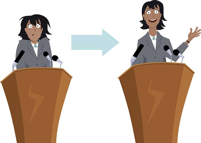 ترس سخنرانی در جمع