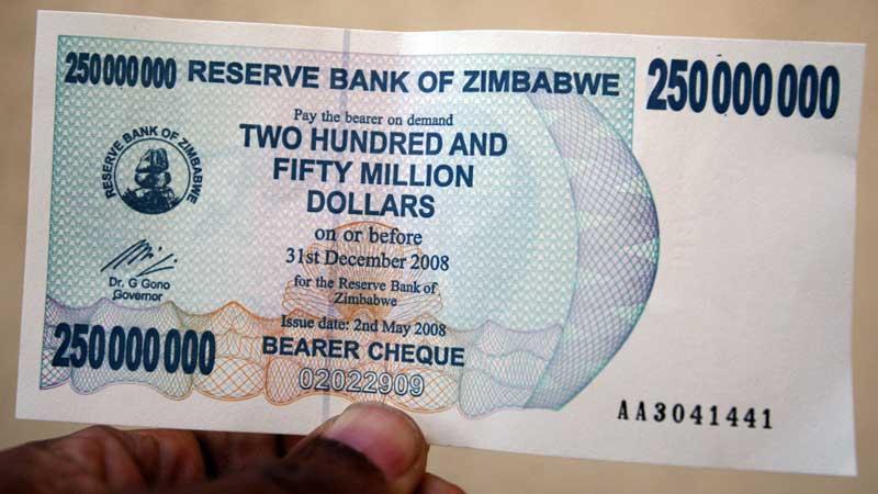 پول زیمبابوه