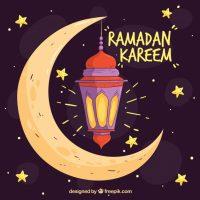 تصاویر گرافیکی پروفایل ماه مبارک رمضان