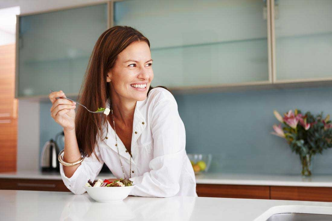 بهبود خلق و خو با تغذیه سالم