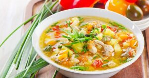 سوپ مرغ مقوی
