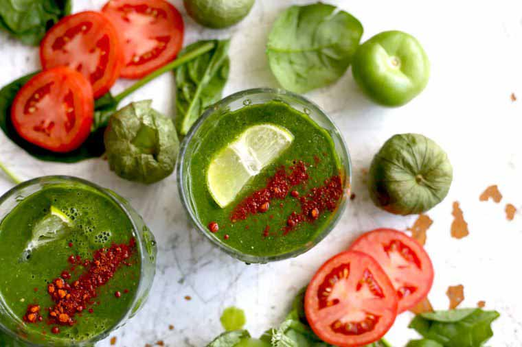 اسموتی سبز پروتئینی