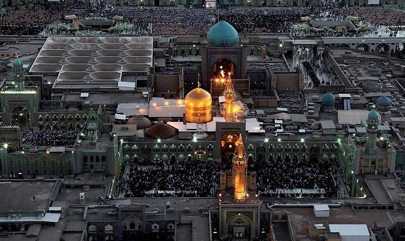 مدت زمان سفر از تهران به مشهد
