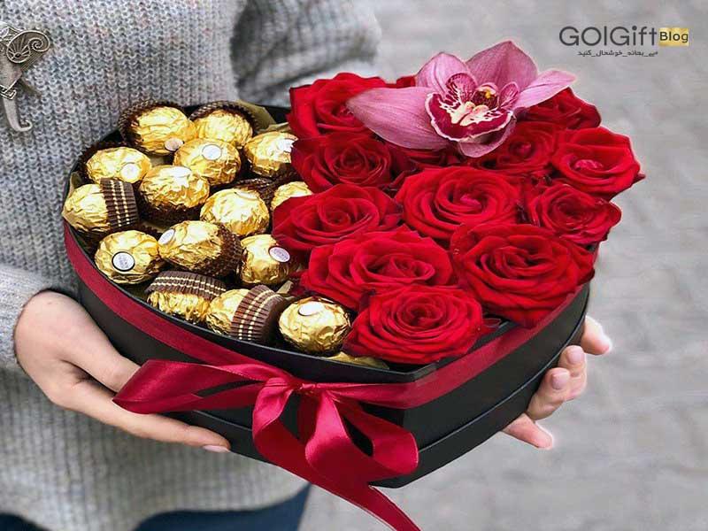 خرید اینترنتی گل برای ولنتاین