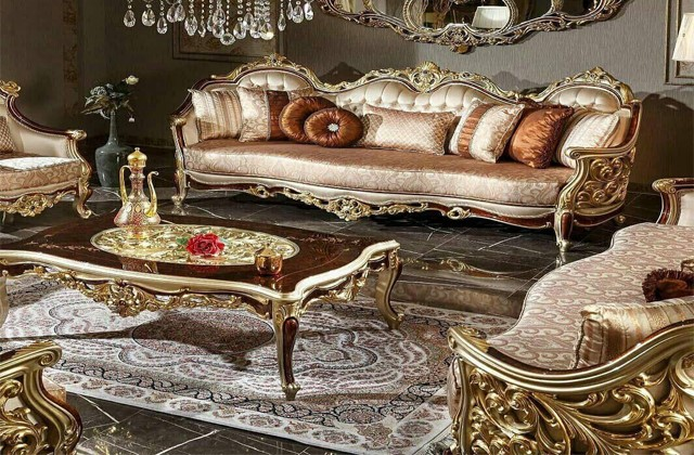 خرید آنلاین مبل کلاسیک ، مبل سلطنتی ، مبل راحتی بازار مبل ملایر