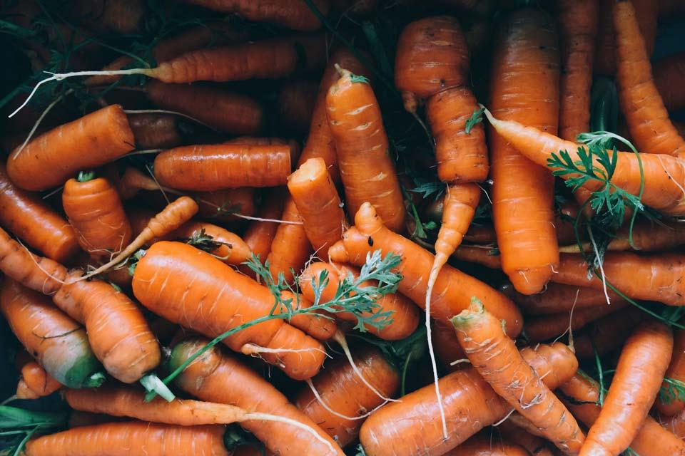 سبزی با رشد سریع,بچه هویج
