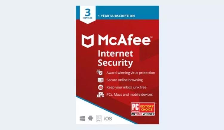 بهترین انتی ویروس دنیا McAfee Internet Security