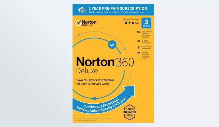 آنتی ویروس خوب Norton 360 Deluxe