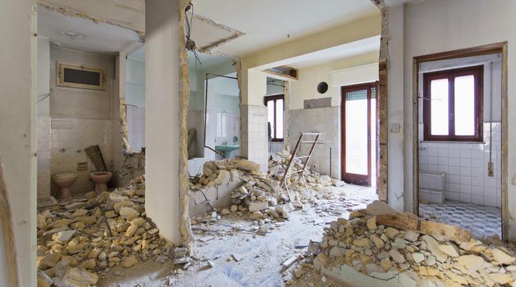 راهنمای گام به گام بازسازی ساختمان