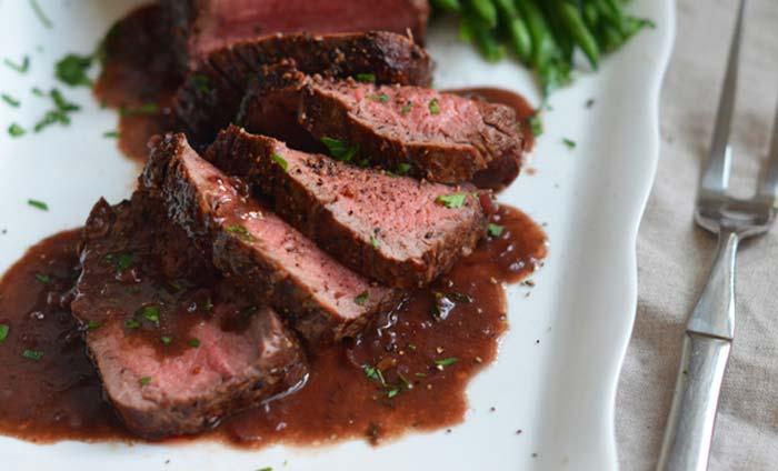 طرز تهیه استیک فیله گوشت گوساله