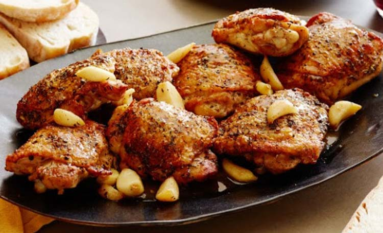 طرز تهیه مرغ کبابی در ماکروویو