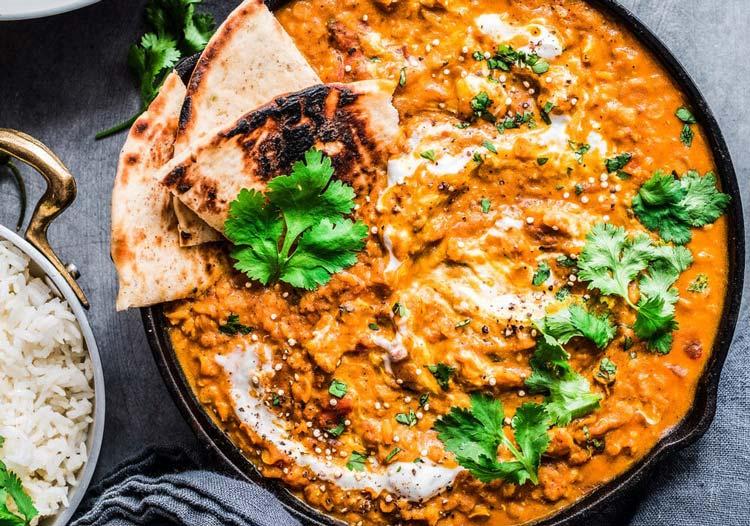 طرز تهیه خوراک عدس هندی