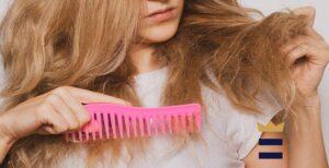 شانه زدن مو به روش اشتباه